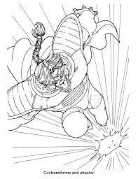 coloring page dragon ball z coloring pages 9