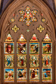 file the apse windows with the parables of jesus sanctuary sage