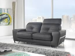 contemporary sofa recliner contemporary style black leather sofa with reclining headrests