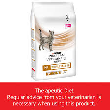 purina pro plan vet diet feline nf renal function cat food 5kg