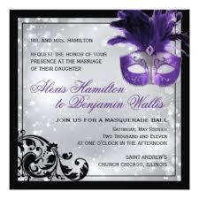 masquerade wedding invitations masquerade wedding invitations announcements zazzle