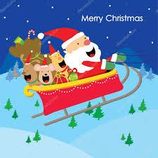 merry christmas tekst santa gift honden plezier genieten van
