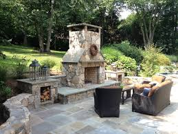 Outdoor Patio Fireplaces Casual Elegance In Westchester County Ny Ny Ct Patio Design
