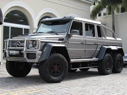 mercedes g class 6x6 2014 mercedes g class g63 6x6 suv for sale in miami fl on