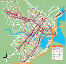chicago map with attractions singapore map tourist attractions new zone