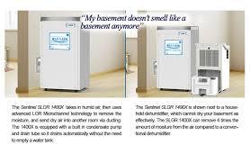 sentinel slgr 1400x dehumidifier low noise dehumidifier
