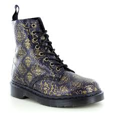 womens boots purple martens pascal baroque womens 8 eyelet leather boots purple black