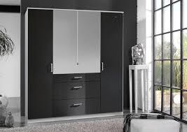 armoire chambre noir laqué surmeuble pour armoire 4 portes noir laqué blanc orphea meuble