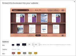 Bookshelf Website Build And Embed Bookcase To Webpage U0026 View On Mobile Fliphtml5