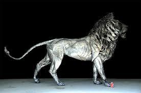 silver lion statue silver magnet release amino