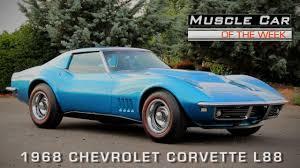 1968 l88 corvette car of the week episode 117 1968 chevrolet corvette
