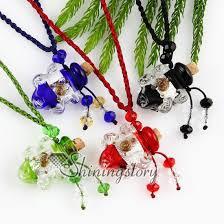 necklace pendants wholesale images Empty small glass vial necklace pendants vintage perfume bottle jpg