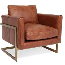 Leather Lounge Chair Modern Leather Lounge Chair
