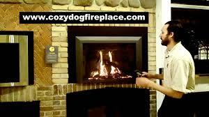 kozy heat jordan xl with titanium beveled front gas fireplace