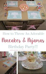 How To Decorate For A Baby Shower by Best 20 Pancake Party Ideas On Pinterest Pajama Party Kids