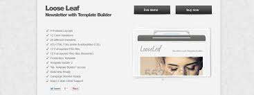 20 best newsletter templates for mailchimp responsive joomla and