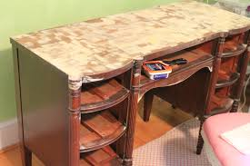 provence blue desk revealed while waiting for the blue garden