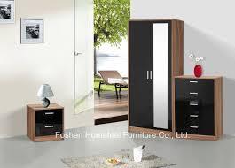 Shiny White Bedroom Furniture Bedroom Furniture Set Foshan Homefeel Wood Co Ltd Page 1