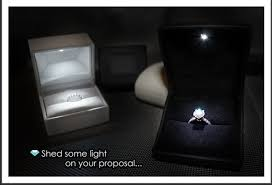 engagement ring boxes that light up we say yes wednesday the yes girls