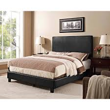 Black Platform Bed Queen Bedroom Excellent Bed Queen For Bedroom Vivacious Upholstered
