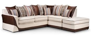 Beige Fabric Sofa Corner Sofa Rhf