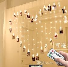string lights with clips 2m 1 6m heart shaped butterfly clip lights remote control