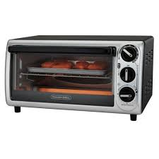 Proctor Silex 4 Slice Modern Toaster Oven Model Silver