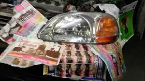 diy how to restore headlights sanding and spraying youtube