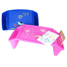 Kids Storage Lap Desk by Personalized Lap Tray Great For Home And Travel