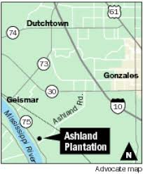 Louisiana Plantations Map by Ashland Belle Helene In Ascension Parish Restored To Former Glory