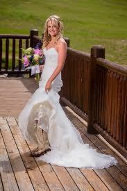 wedding dresses that go with cowboy boots a few more wedding pics