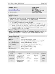 Core Java Resume Resume Surendra Java Fresher Java Server Pages Java