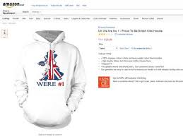 britain first style u0027proud to be british u0027 hoodie shows how stupid