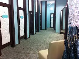 retail fitting room doors look at those upholstered doors and i