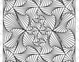 illusions coloring pages coloring pages etsy