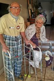 Bad Grandpa Halloween Costume Folk Couple Costume Halloween Costume Contest Costume