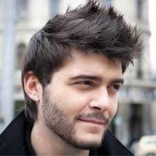 mens short hairstyles for thick straight hair mens short