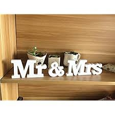 mr and mrs wedding signs mr mrs wooden letters wedding decoration present