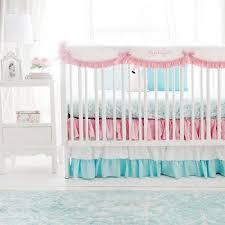Pink And Aqua Crib Bedding Pink And Aqua Crib Bedding Pink Crib Bedding Baby Bedding