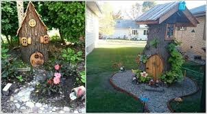 10 absolutely wonderful tree stump landscaping and decor ideas