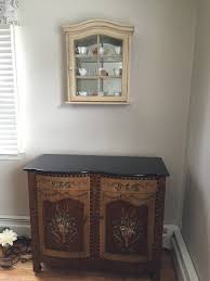 Mirror Over Buffet by Curio Over Buffet