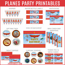 planes fire u0026 rescue party printables u2013 printables for kids