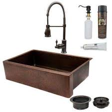 Copper Kitchen Sinks Kitchen The Home Depot - Home depot kitchen sink