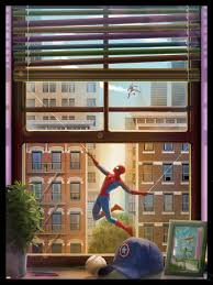 Asia Khan Bad Orb The Blot Says Spider Man Print By Andy Fairhurst X Grey Matter
