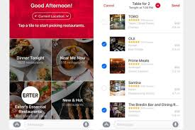 opentable for ios 10 eases the burden of dinner reservations