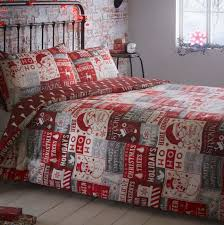 Christmas Duvet Cover Sets Red Ho Ho Ho Christmas Quilt Cover Sets Festive Duvet Sets