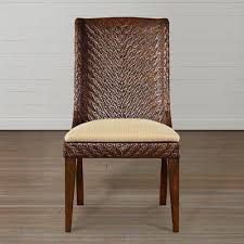 Custom Dining Room Chairs - Woven dining room chairs