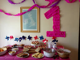home party decoration fresh first birthday decoration ideas at home for girl creative
