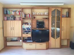 Wohnzimmerschrank Erle Massiv Schrankwand Wohnwand Erle Massiv Von Musterring Posot Kleinanzeigen