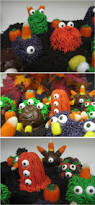doodles and doilies monster cake balls